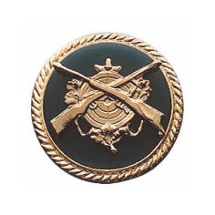 Schützenabzeichen mit Schmuckrand, 20 mm Ø-Copy