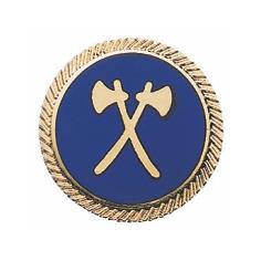 """Schützenabzeichen """"Sappeur"""", 20 mm Ø"""