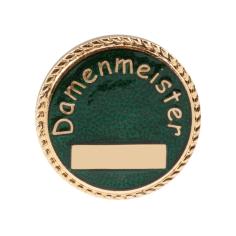 """Auflage/Abzeichen """"Damenmeister"""""""