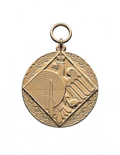 Medaille Schützenemblem in 2 Größen