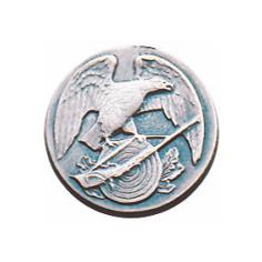 Schützenabzeichen, 16 mm Ø