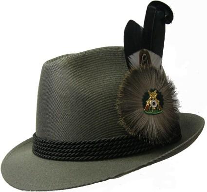Schützenhut, Dralon, schilfgrün, Sportform