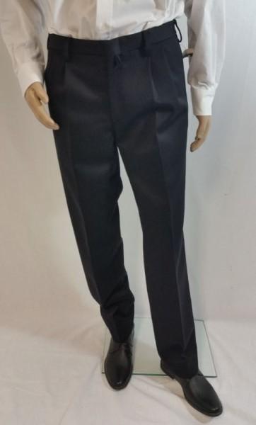 Herren Uniformhose, schwarz
