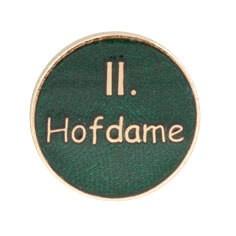 """Auflage/Abzeichen """"II. Hofdame"""""""
