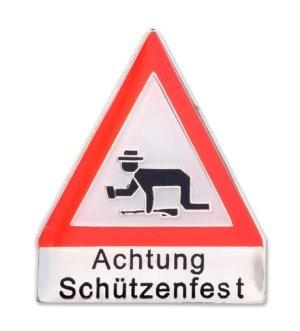 """Pin """"Achtung Schützenfest"""""""