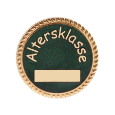 """Auflage/Abzeichen """"Altersklasse"""""""