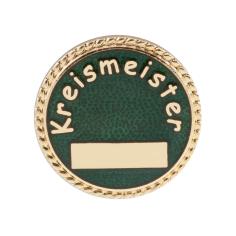 """Auflage/Abzeichen """"Kreismeister"""""""