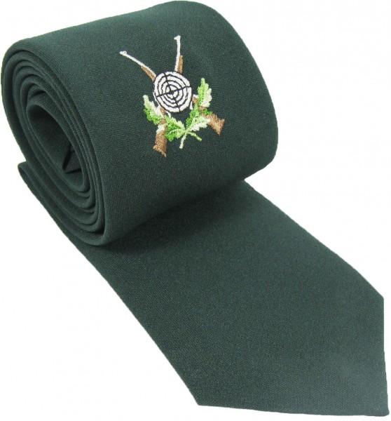 Krawatte mit Schützenemblem, Fresco, verschiedene Farben