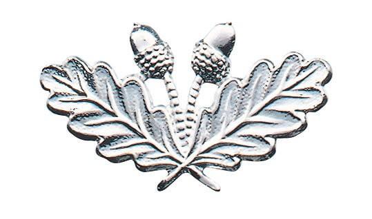 Metallabzeichen Eichenlaub