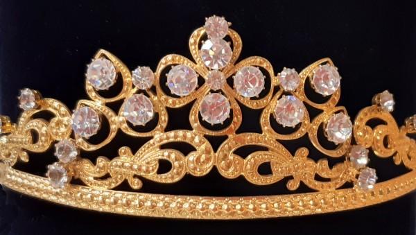 Diadem, gold