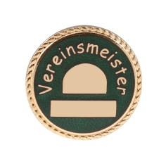 """Auflage/Abzeichen """"Vereinsmeister"""""""