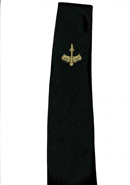 Krawatte, schwarz