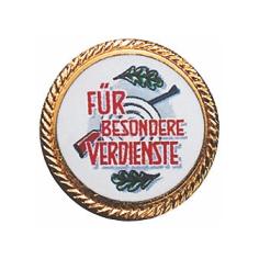 """Auflage """"Für besondere Verdienste"""""""