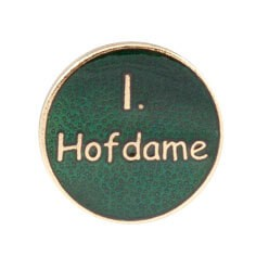 """Auflage/Abzeichen """"I. Hofdame"""""""