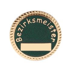 """Auflage/Abzeichen """"Bezirksmeister"""""""