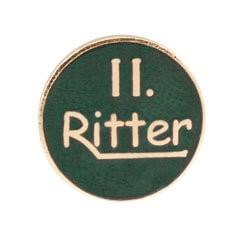 """Auflage/Abzeichen """"II. Ritter"""