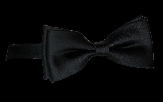 Satinschleife, stumpfe Form, mit Ankerband