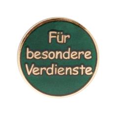 """Auflage/Abzeichen """"Für besondere Verdienste"""""""