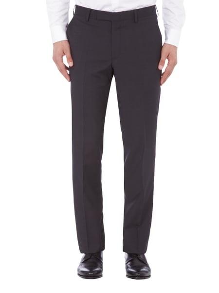 Herren-Uniformhose, schwarz
