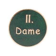 """Auflage/Abzeichen """" II. Dame"""""""