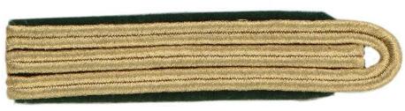 Schulterstück, 8 mm Soutache, 3-streifig