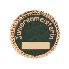 """Auflage/Abzeichen """"Juniorenmeisterin"""""""