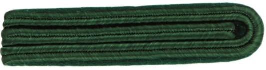 Schulterstück , 8 mm Soutache, 3-streifig