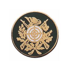 Schützenabzeichen, 17 mm Ø