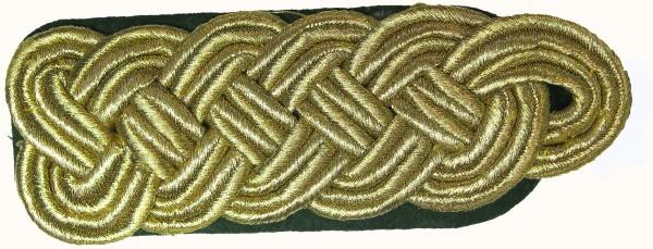 Schulterstück, 6 mm Soutache, 5-bogig
