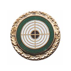 Schützenabzeichen, 18 mm Ø